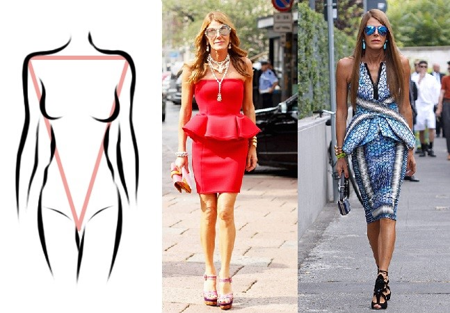 A Guide On How To Dress An Inverted Triangular Body Shape